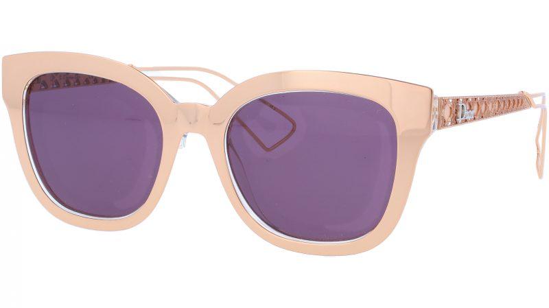 Dior AMA1 SBHC6 52 RedGold Sunglasses
