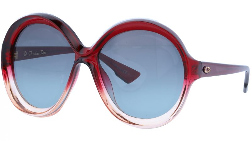 Dior BIANCA OT5I7 58 BurgunDY Sunglasses
