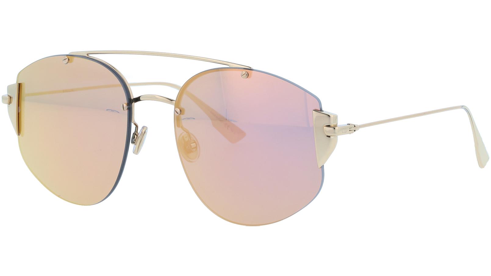 Dior STRONGER 000NE 58 Gold Sunglasses