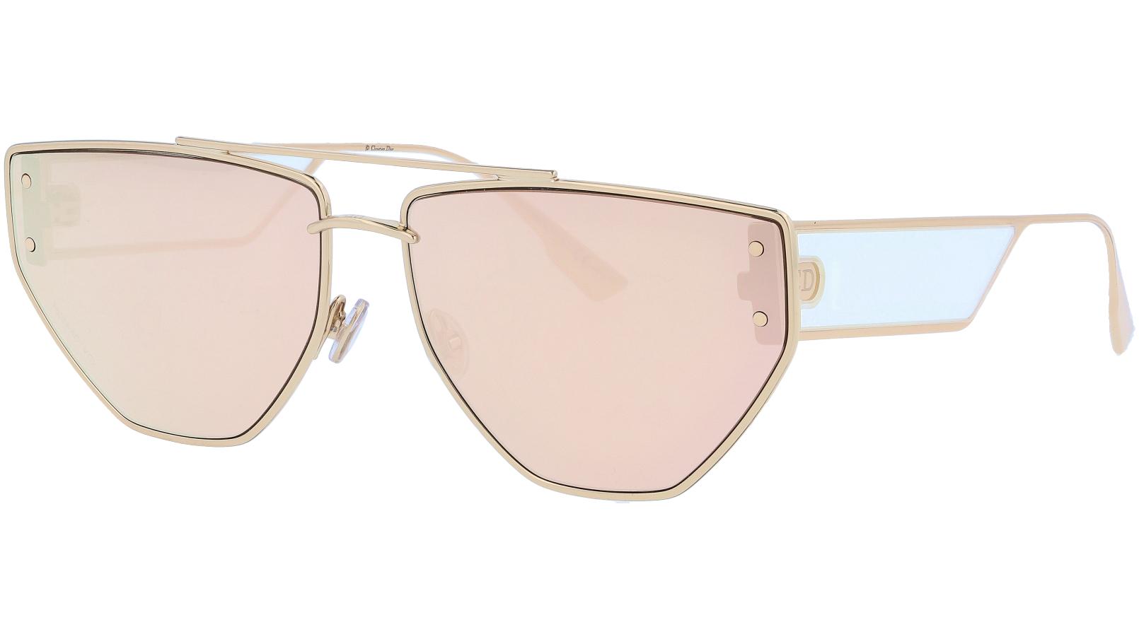 Dior CLAN2 DDB1I 61 Gold Sunglasses