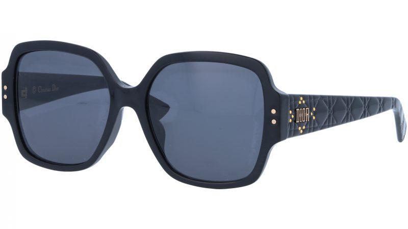 Dior LADYDiorSTUDS5F 807IR 57 Black Sunglasses