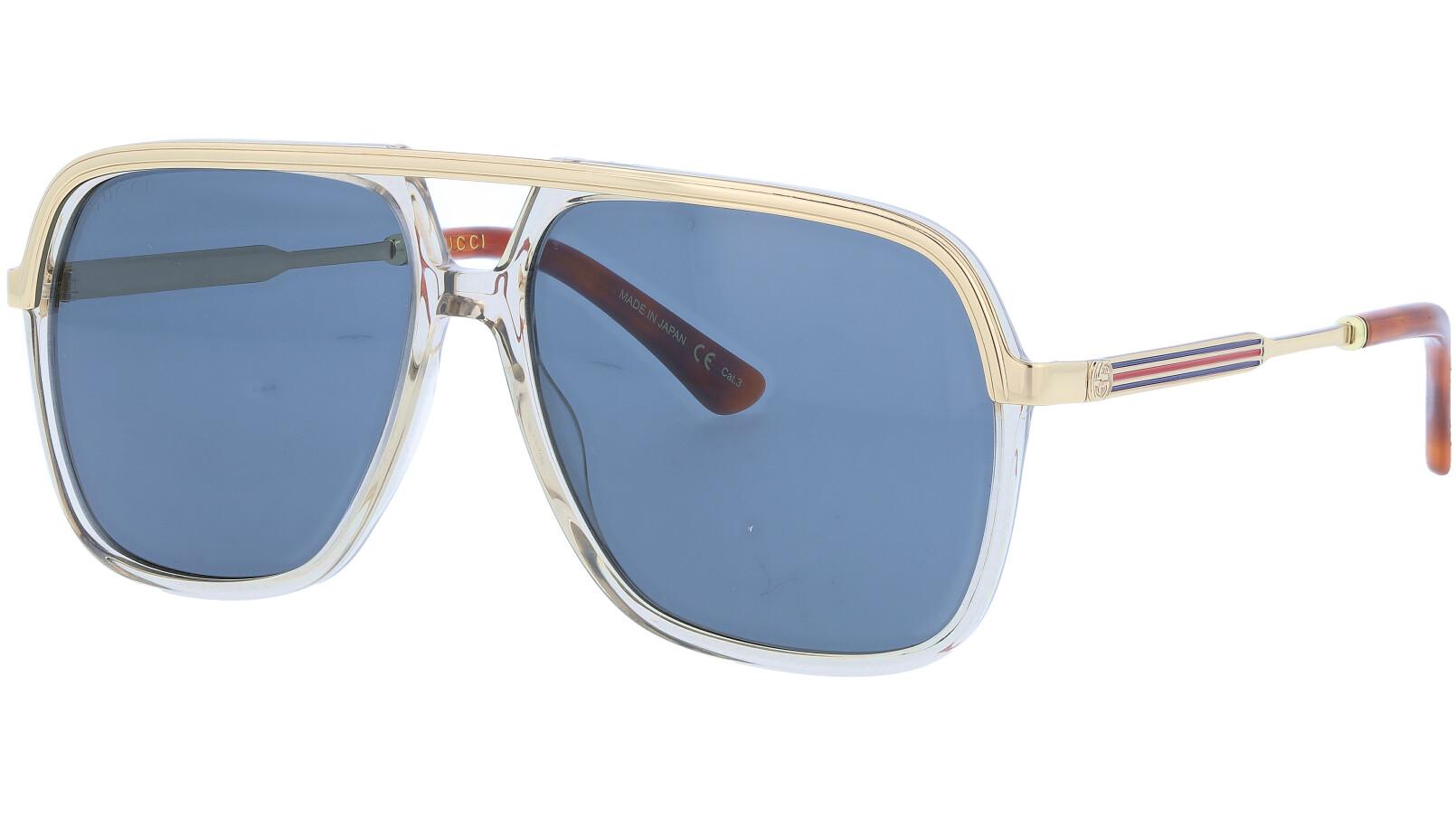GUCCI GG0200S 004 57 BROWN Sunglasses