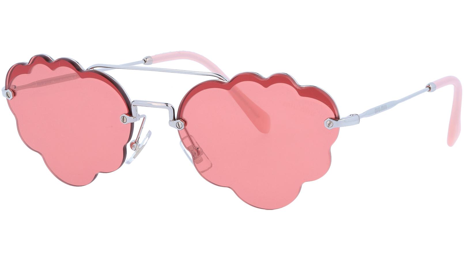 MIU MIU MU57US 1BC177 58 Red Cloud Sunglasses