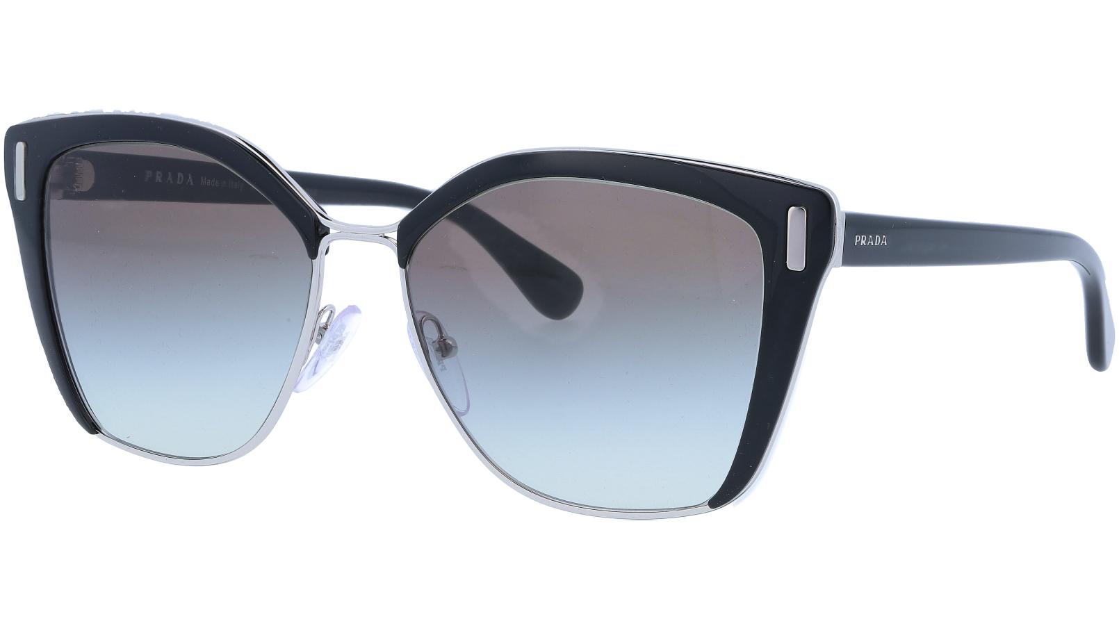 PRADA PR56TS 1AB0A7 57 BLACK Sunglasses