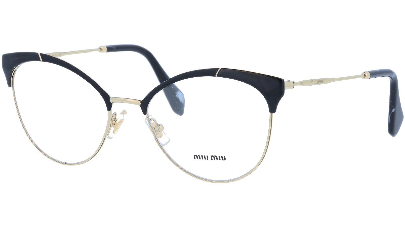 MIU MIU MU50PV 1AB1O1 54 BLACK Glasses