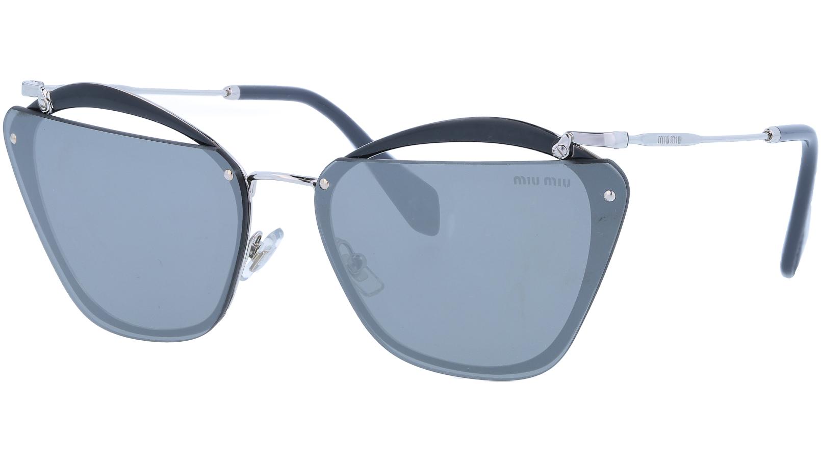 Miu Miu MU54TS KJW7W1 64 Black Sunglasses