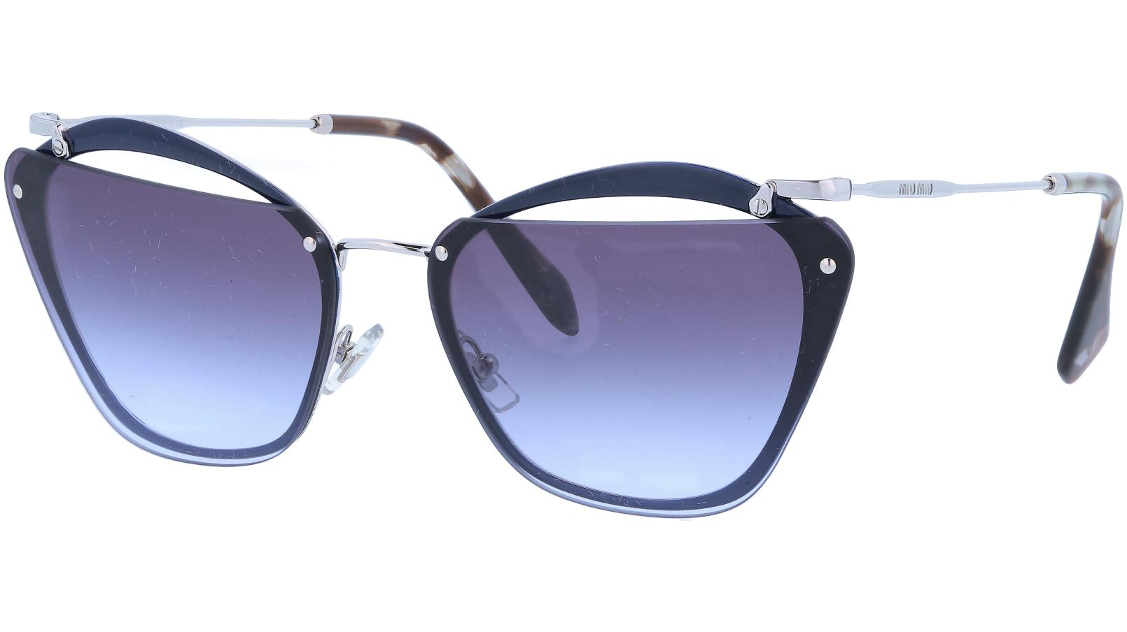 Miu Miu MU54TS UE62F0 64 Black Sunglasses