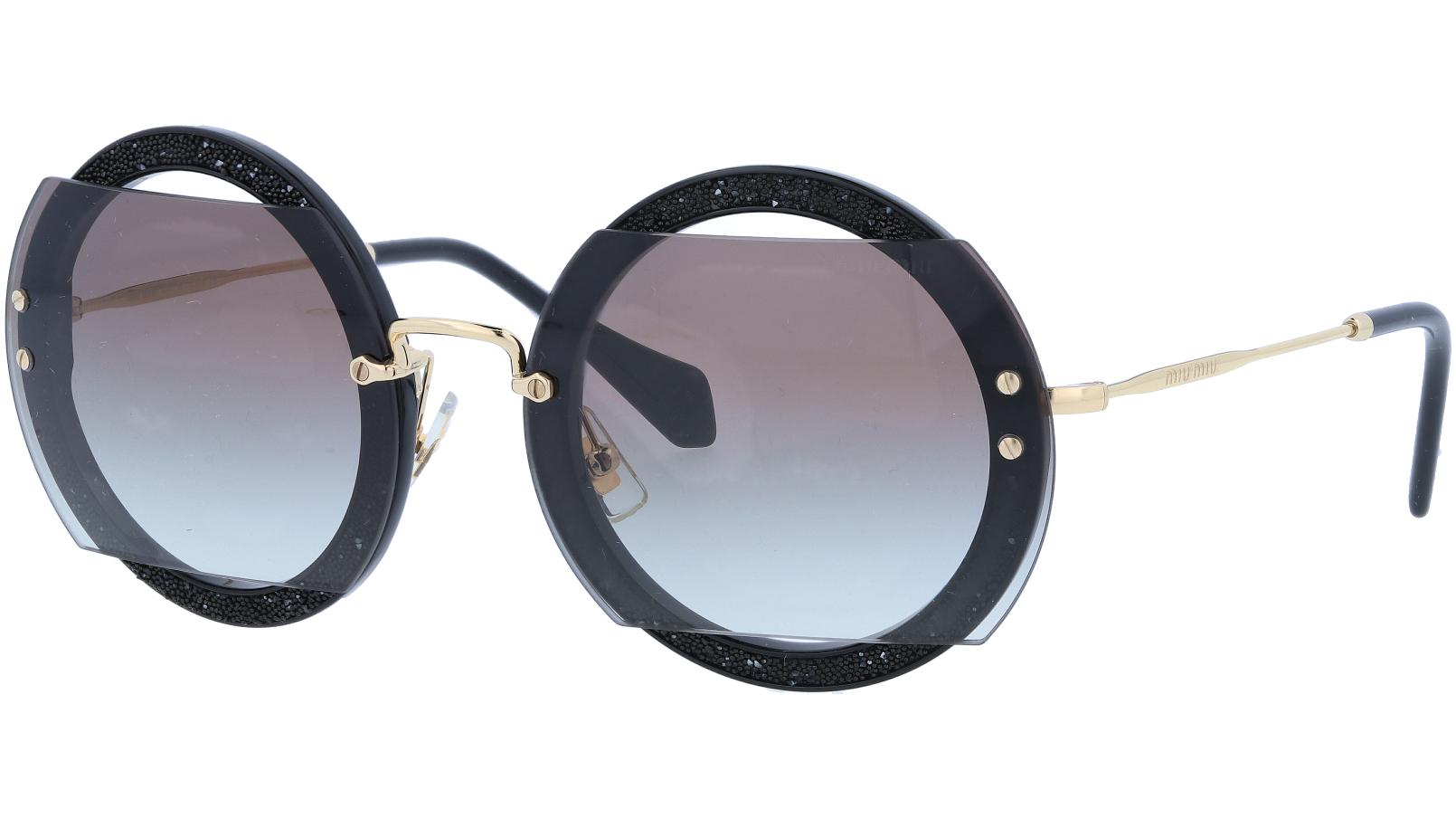 MIU MIU MU06SS 1ABOA7 63 Black Sunglasses
