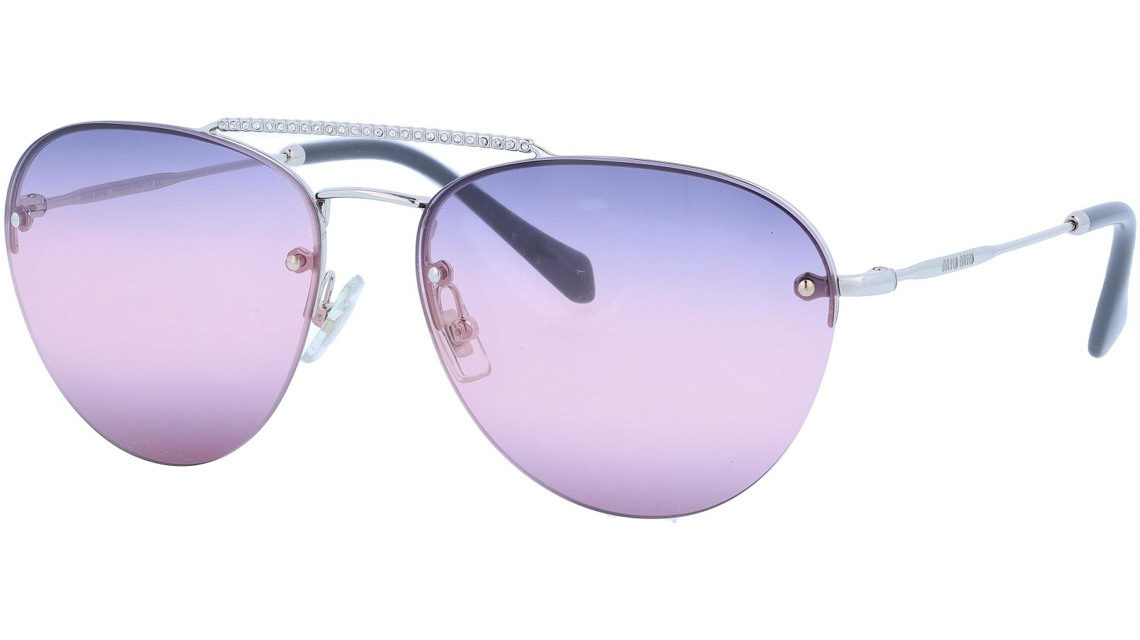 MIU MIU MU54US 1BC157 59 Purple Sunglasses