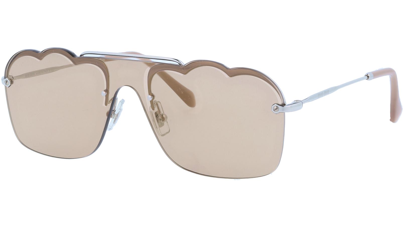 MIU MIU MU55US 1BC176 54 Gold Sunglasses