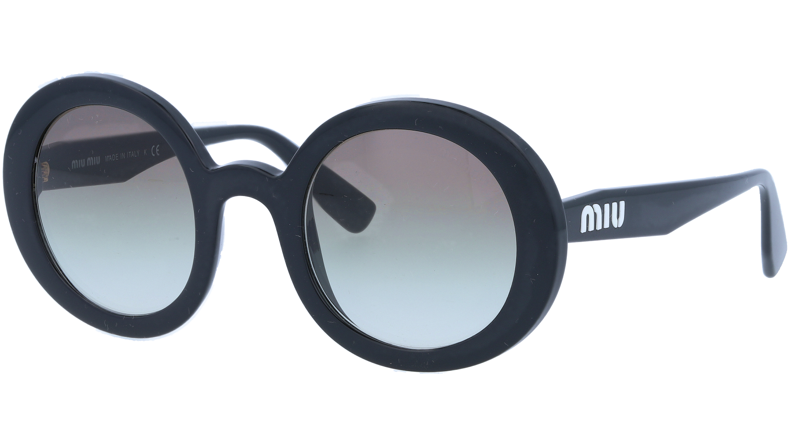 MIU MIU MU06US 1AB0A7 48 Black Sunglasses