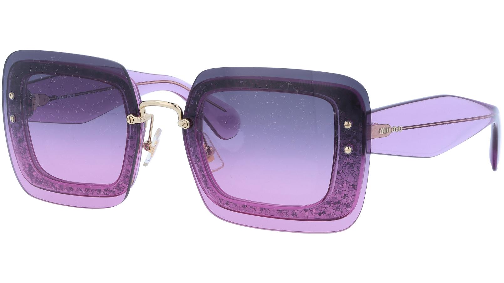 MIU MIU MU01RS 101153 67 Purple Oversize Sunglasses
