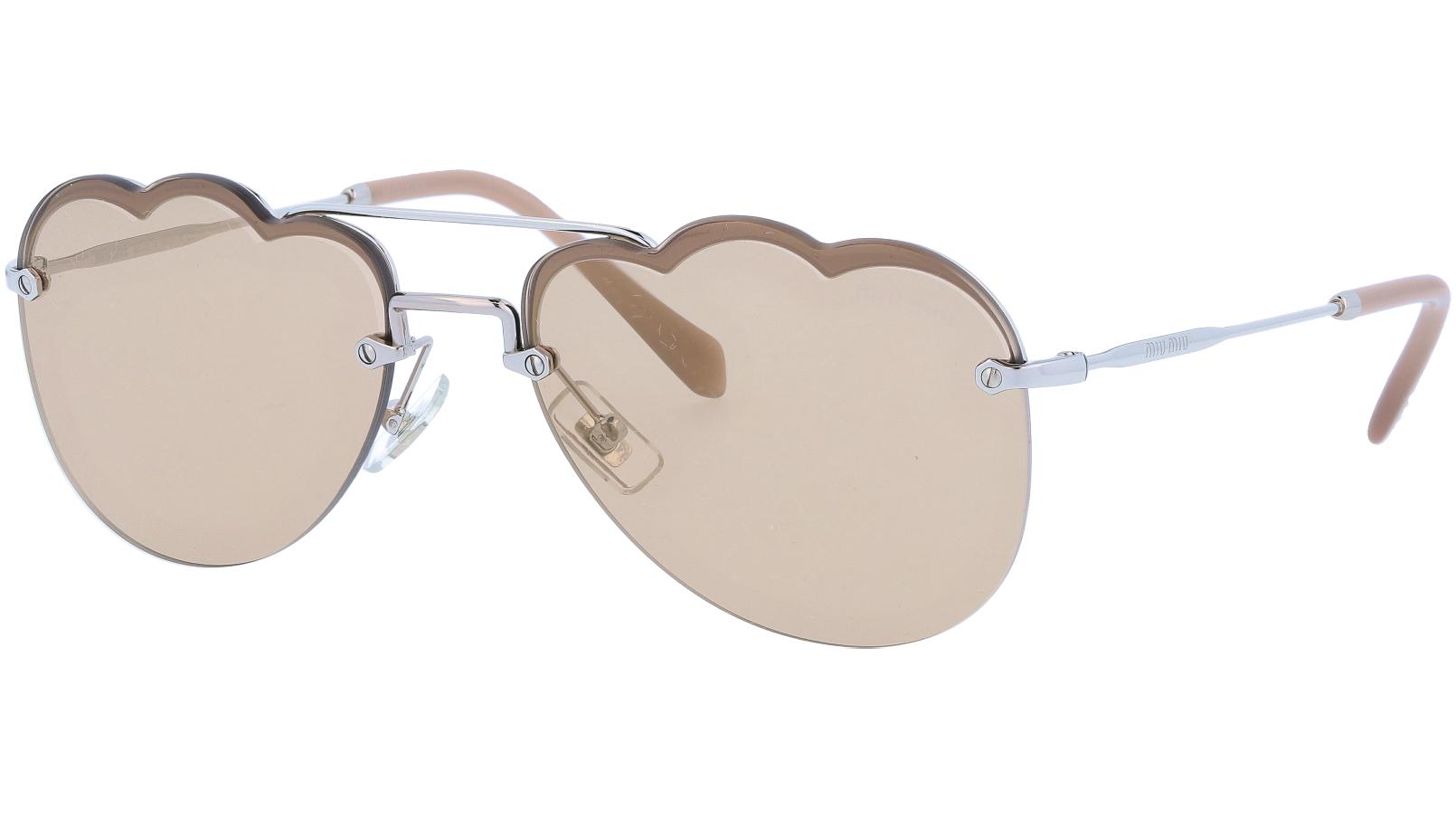 Miu Miu MU56US 1BC176 58 Brown Sunglasses