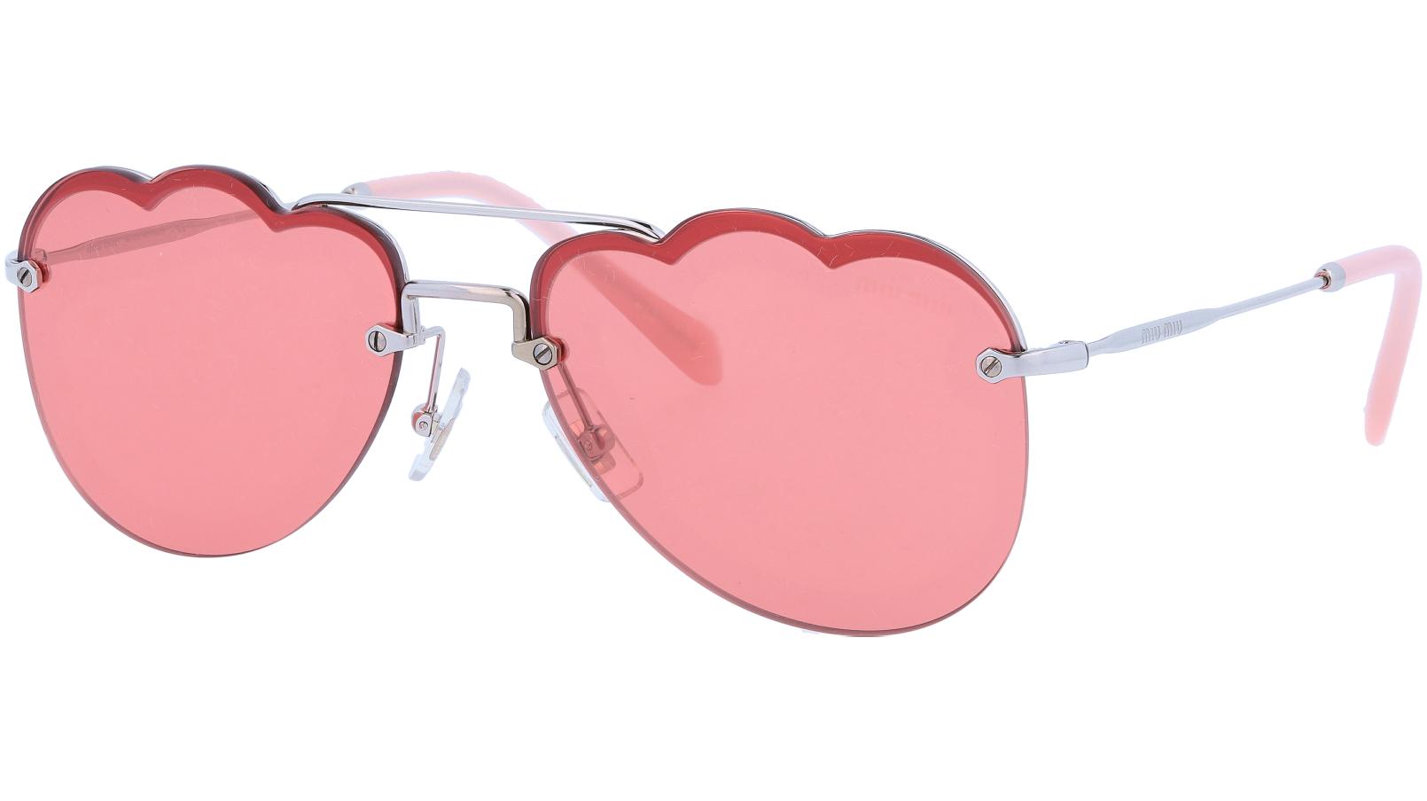 Miu Miu MU56US1BC177 58 Red Sunglasses