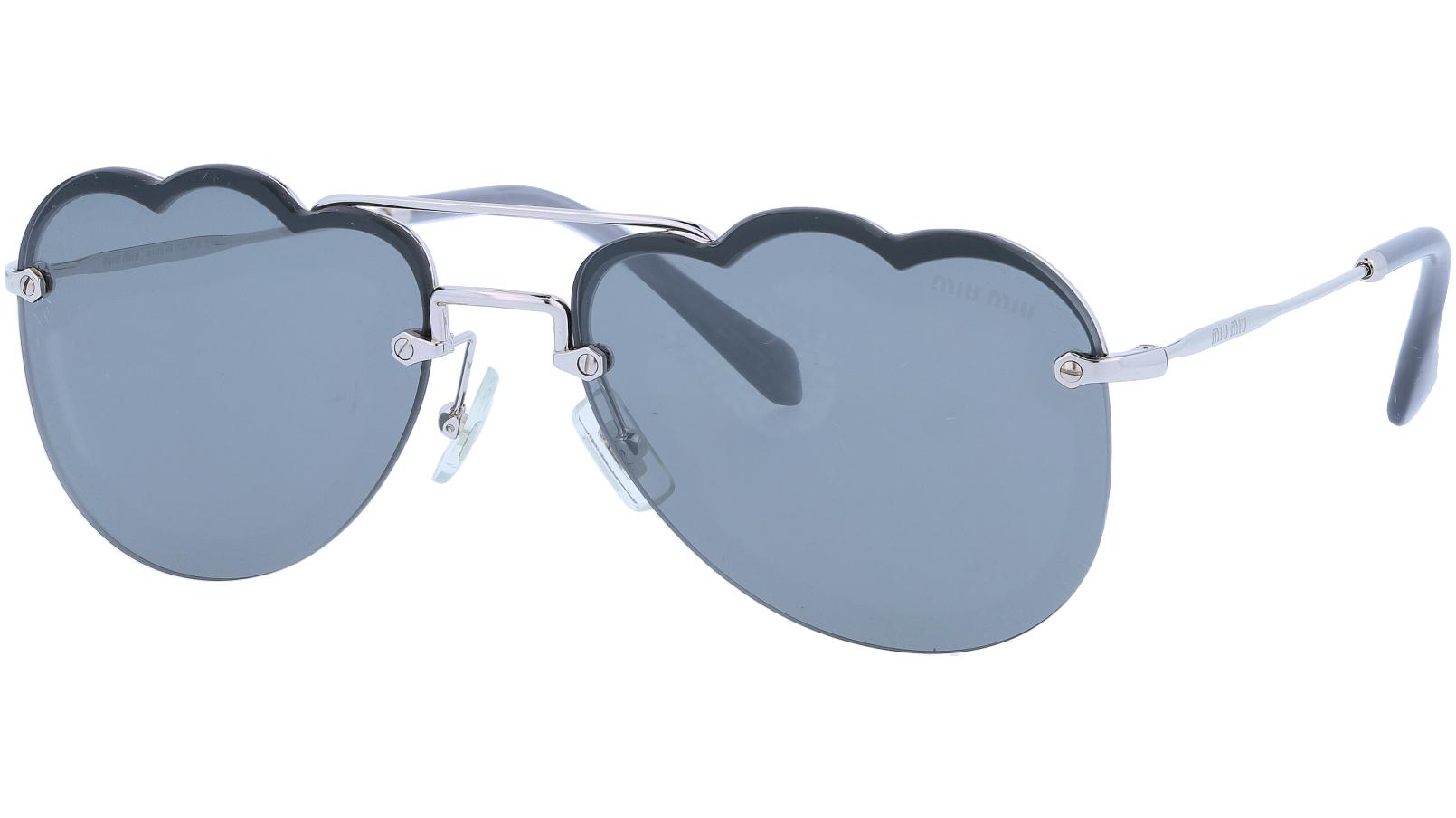 Miu Miu MU56US 1BC175 58 Grey Sunglasses