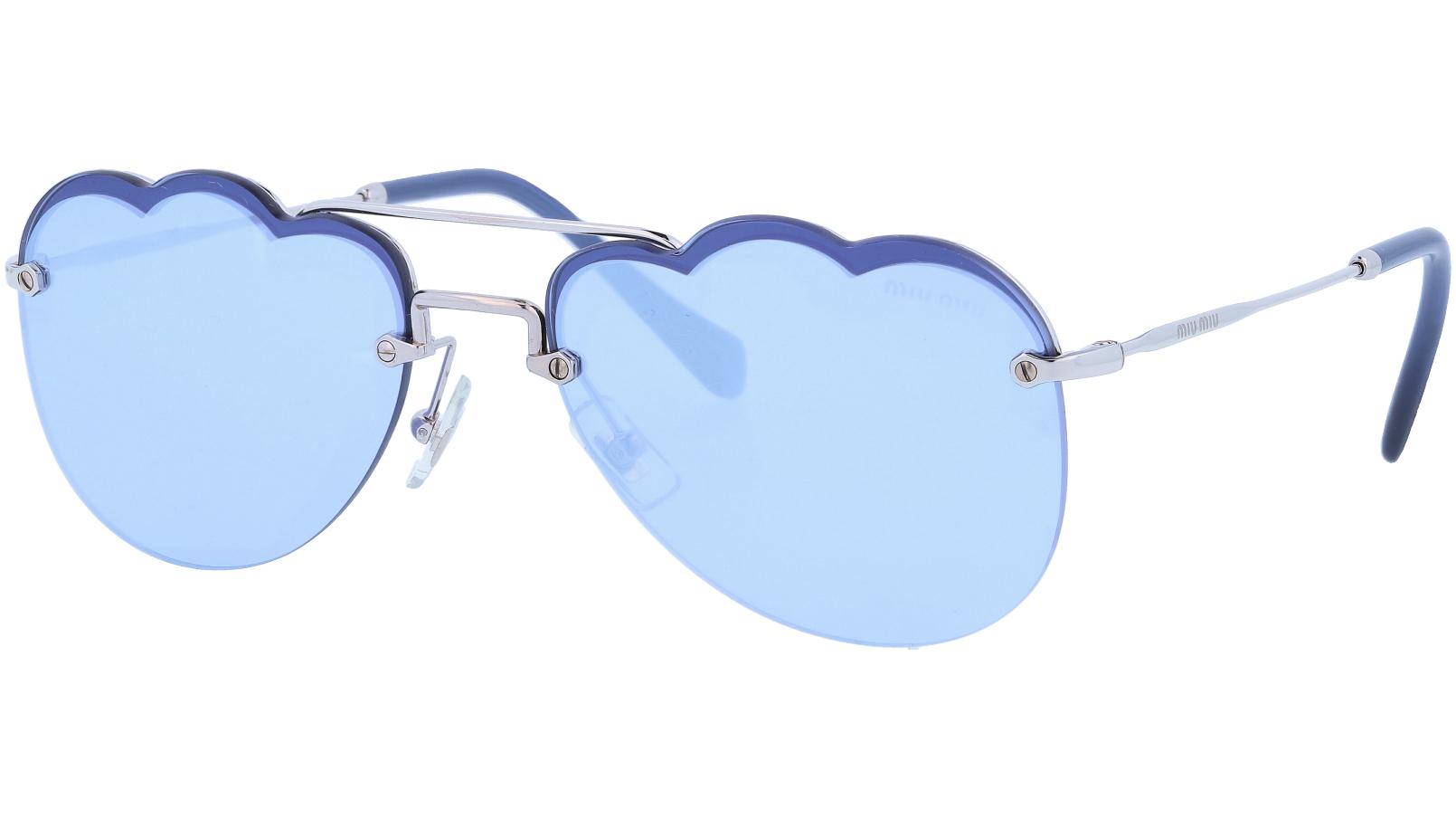 Miu Miu MU56US 1BC178 58 Blue Sunglasses
