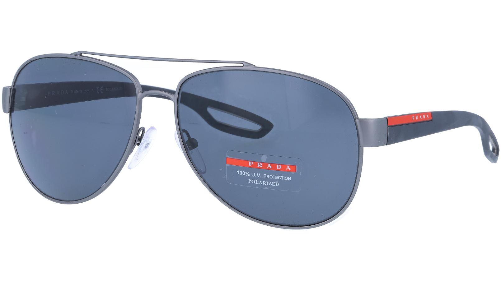Prada Linea Rossa PS55QS DG15Z1 62 NICKEL Sunglasses
