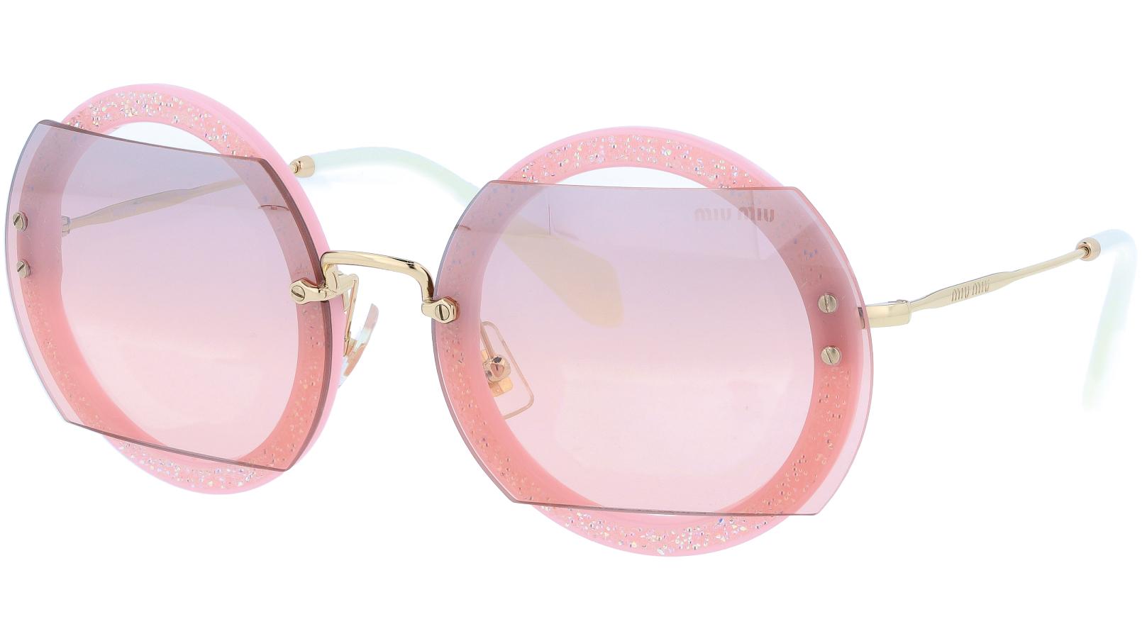 MIU MIU MU06SS AR03B0 63 Pink Sunglasses