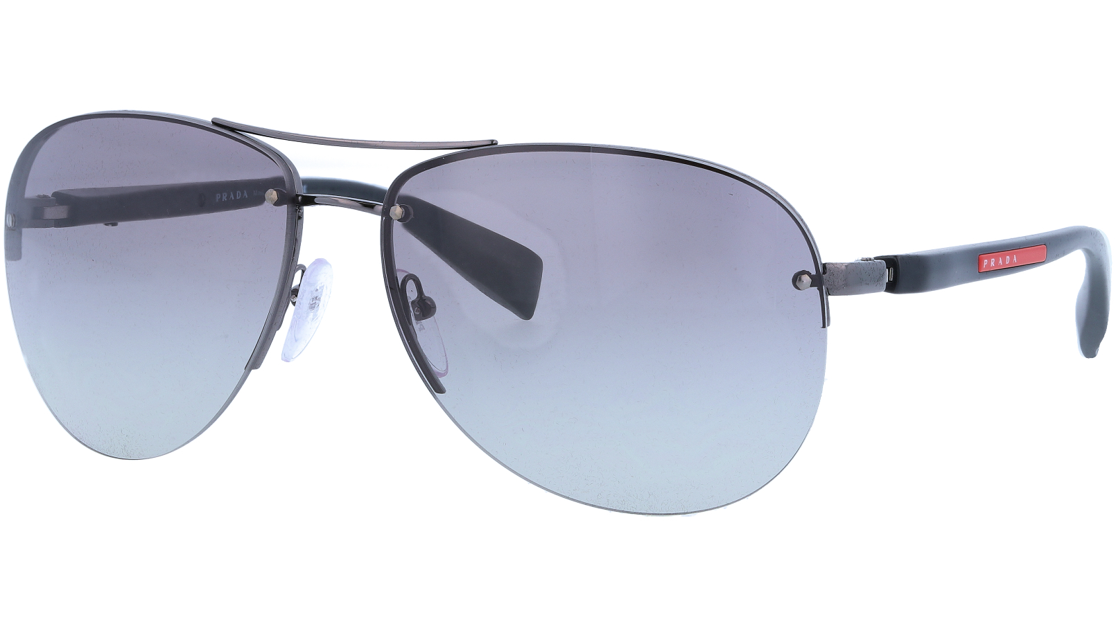 Prada Linea Rossa PS56MS 5AV3M1 65 NICKEL Sunglasses