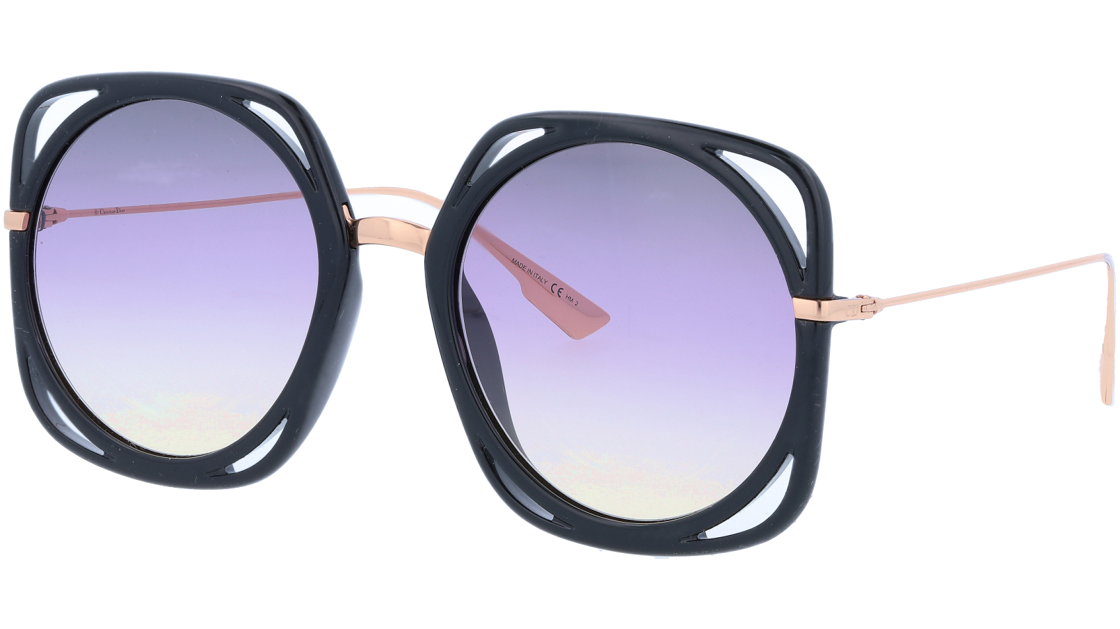 Dior DIRECTION 2M21I 56 Black Sunglasses