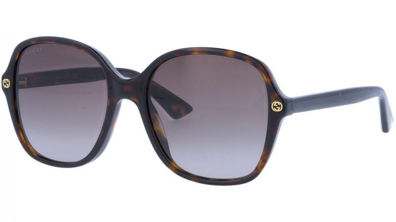 GUCCI GG0092S 002 55 AVANA Sunglasses