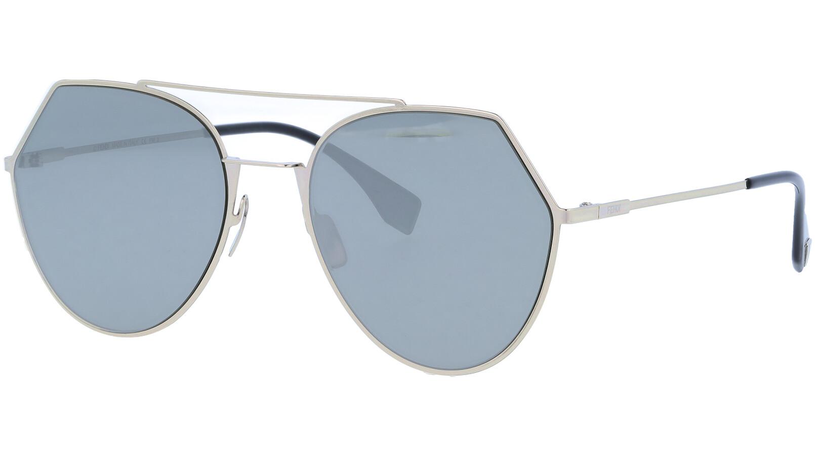 FENDI FF0194/S 3YG0T 55 Light Gold Sunglasses