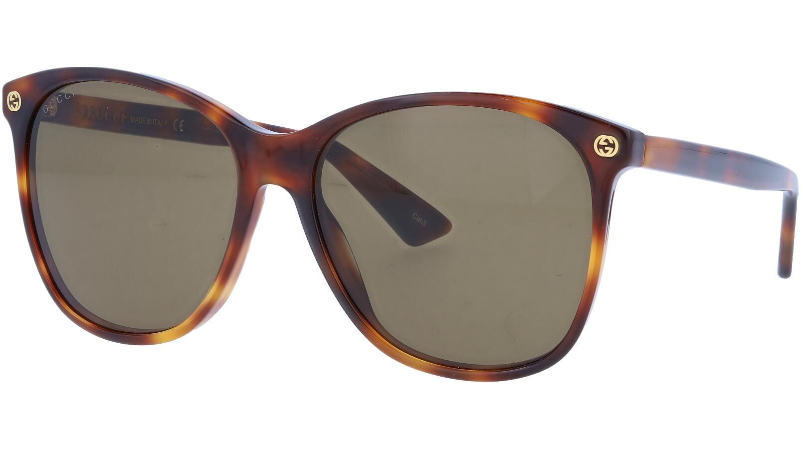 GUCCI GG0024S 002 58 AVANA Sunglasses