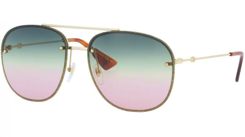 GUCCI GG0227S 004 62 GOLD Sunglasses