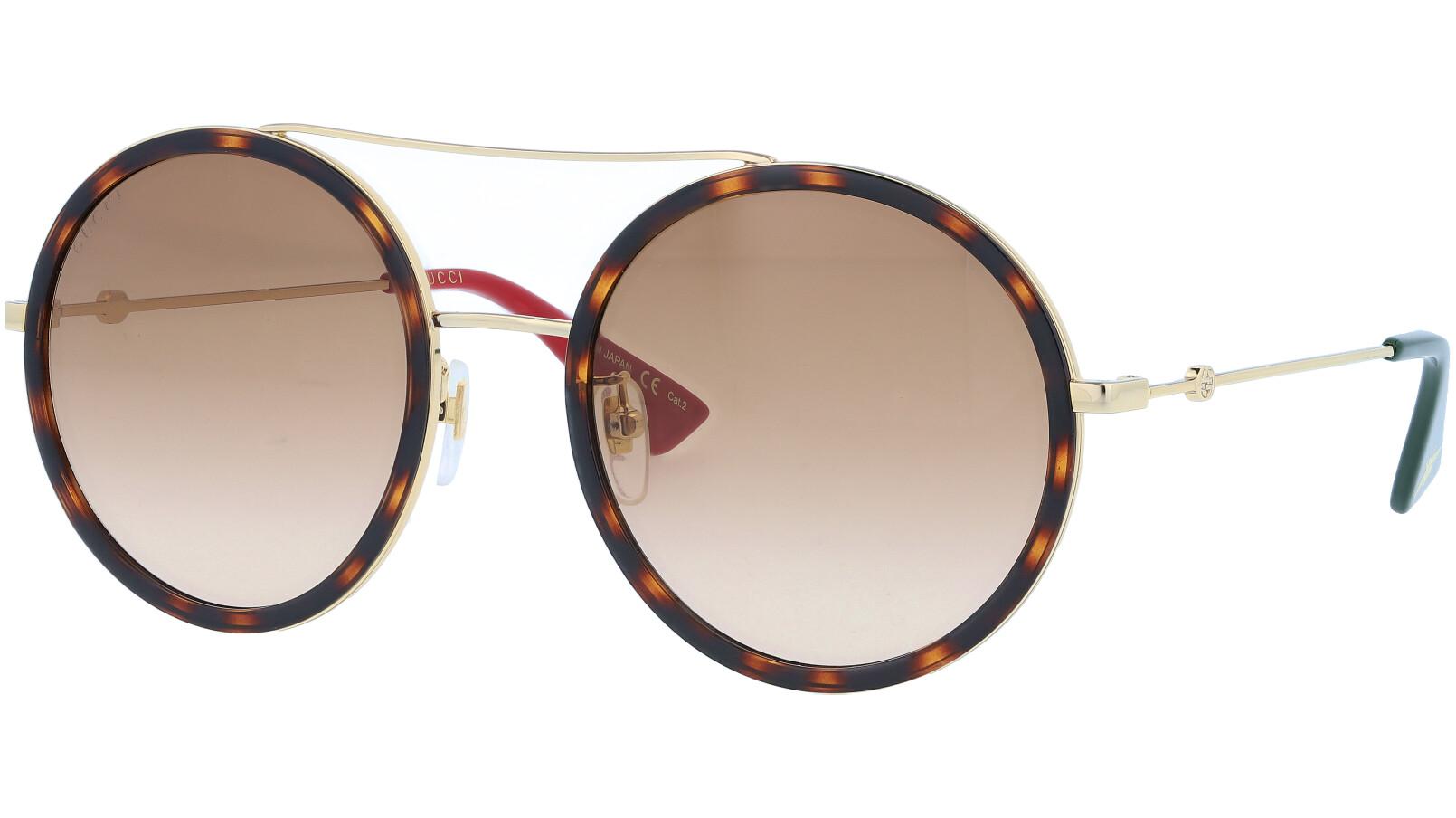 GUCCI GG0061S 001 56 GOLD Sunglasses