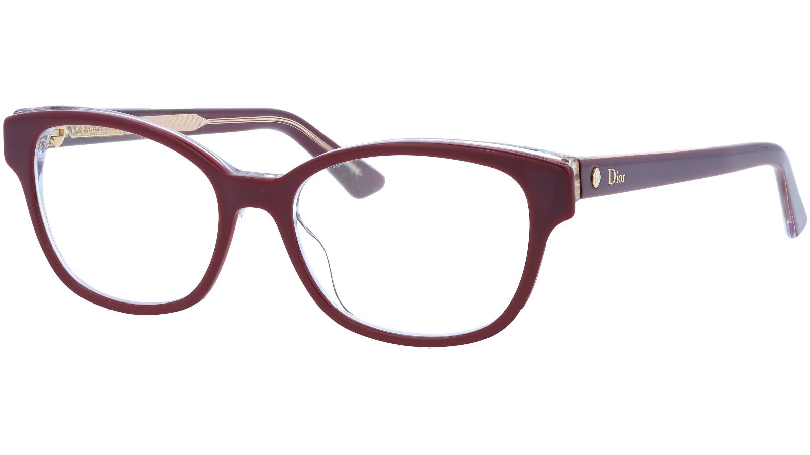 Dior MONTAIGNE3 MVG 52 BurgunDY Glasses