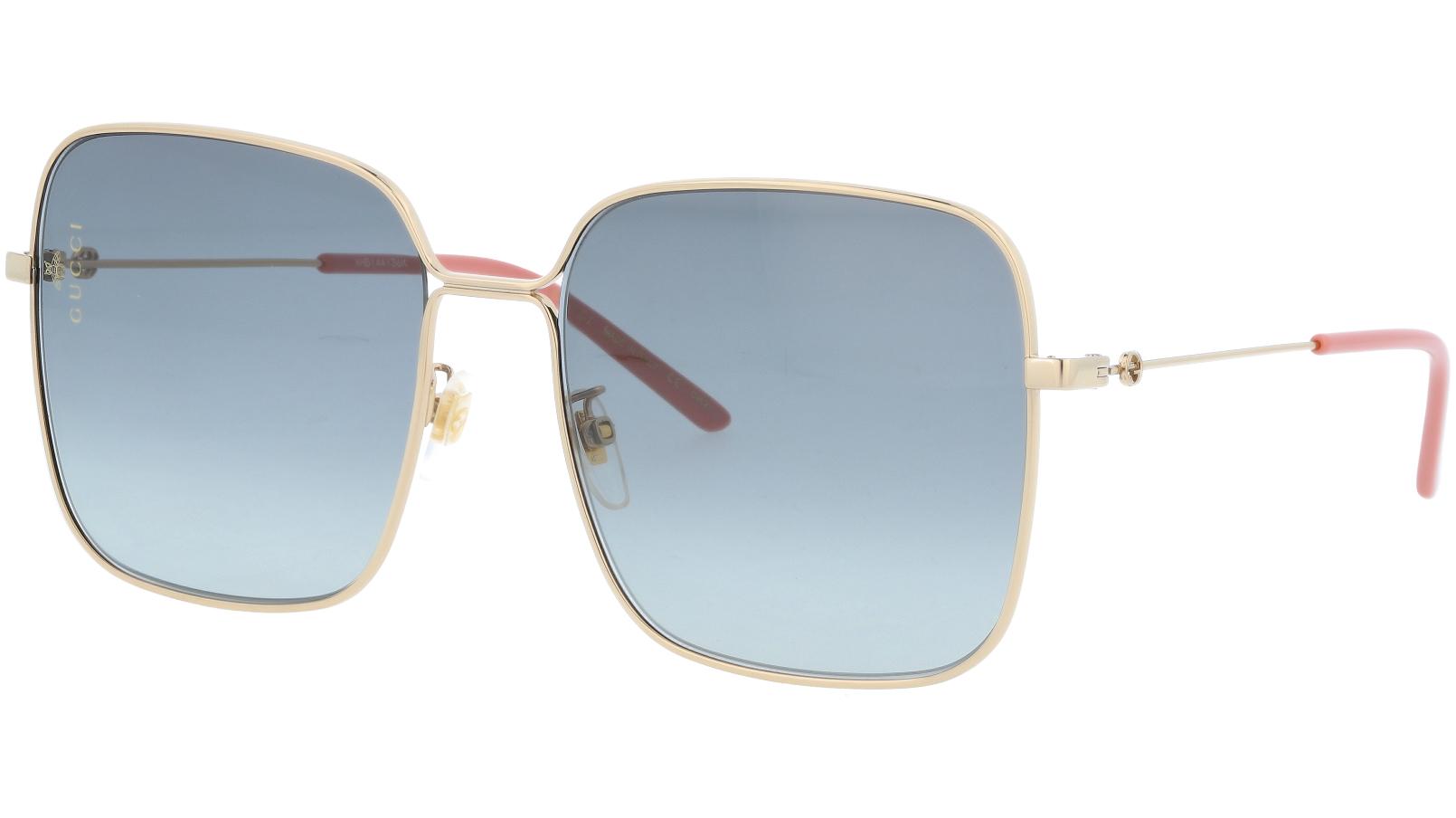 GUCCI GG0443S 005 60 GOLD Sunglasses