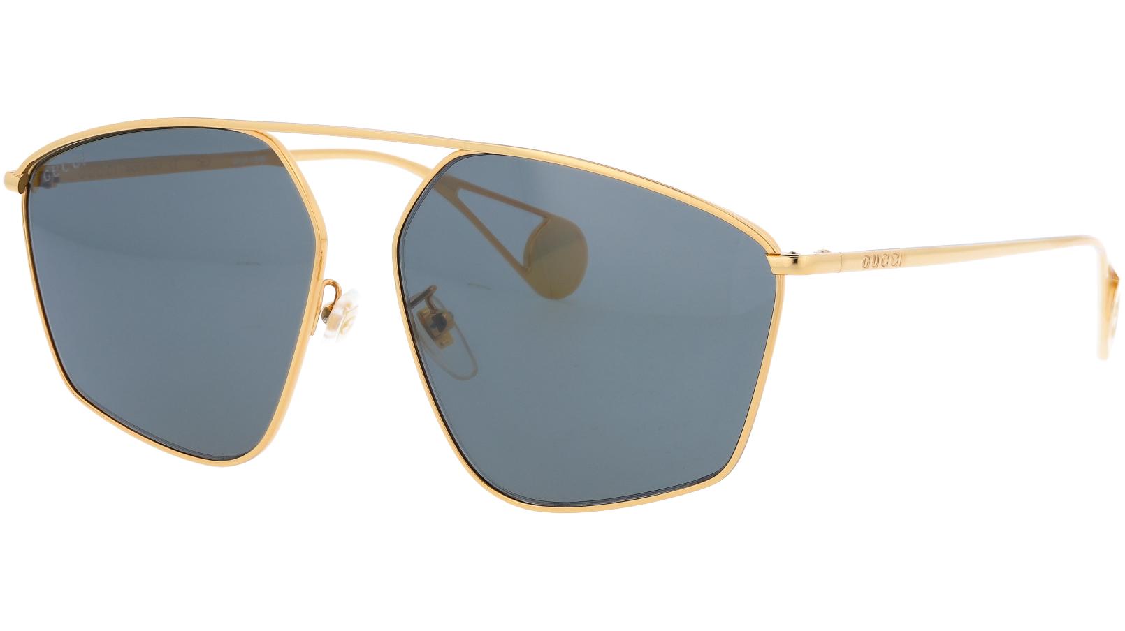 GUCCI GG0437SA 001 60 GOLD Sunglasses