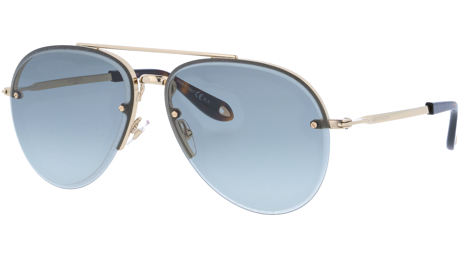 GIVENCHY GV7075S J5G90 62 GOLD Sunglasses