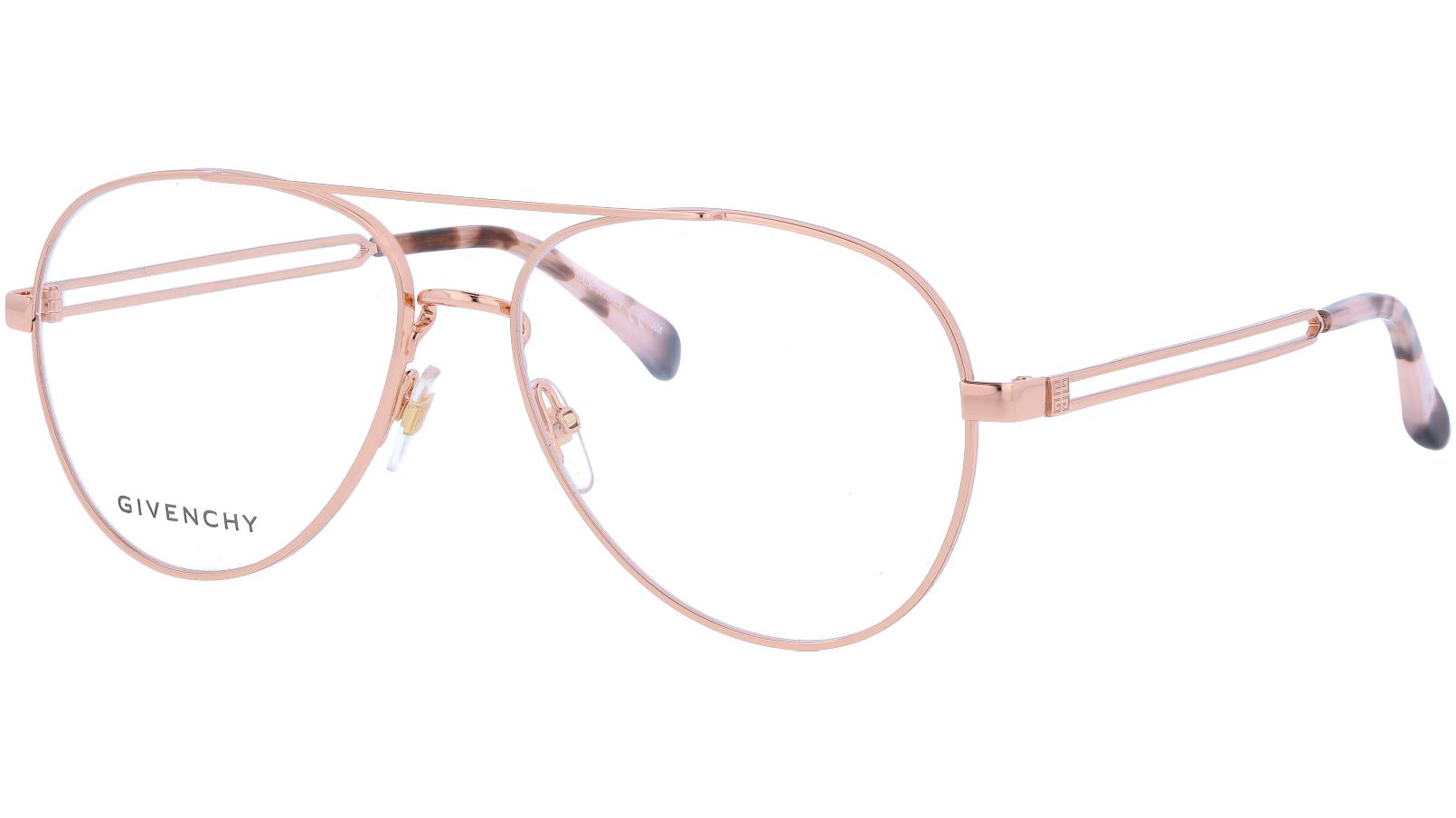 Givenchy GV0095 DDB 56 Gold Glasses