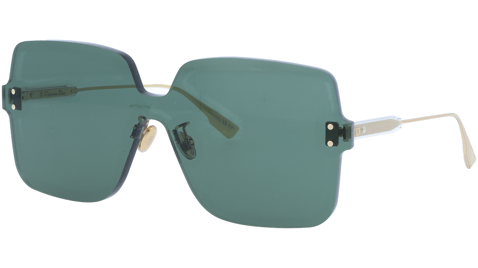 DIOR DIORCOLORQUAKE1 1EDQT GREEN Sunglasses