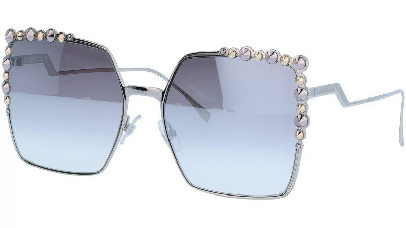 FENDI FF0259/S 010IC 60 Palladium Studded Sunglasses