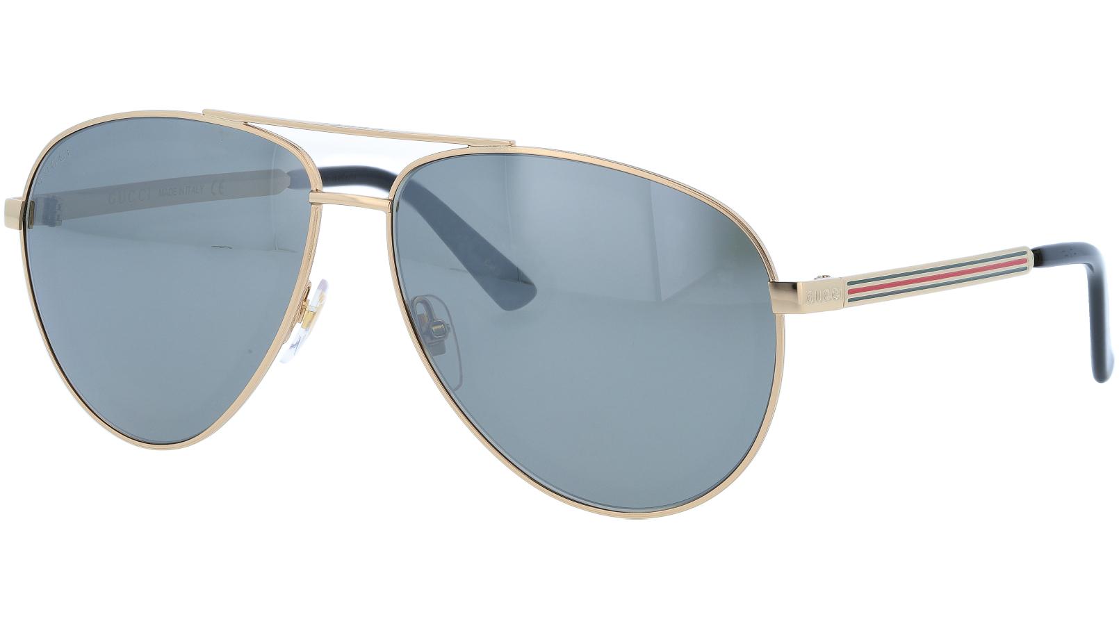 GUCCI GG0137S 003 61 RUTHENIUM Sunglasses