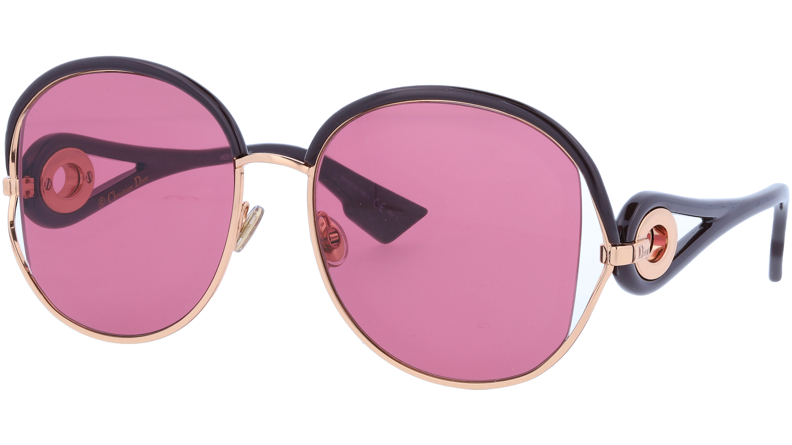 Dior NEWVOLUTE S9EVC 57 Gold Sunglasses