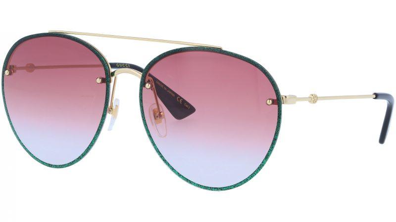 GUCCI GG0351S 004 62 GOLD Sunglasses