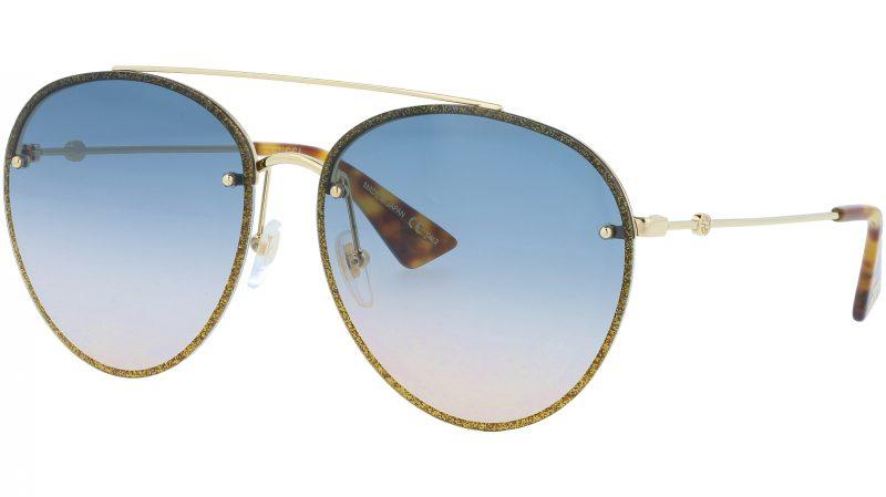 GUCCI GG0351S 003 62 GOLD Sunglasses