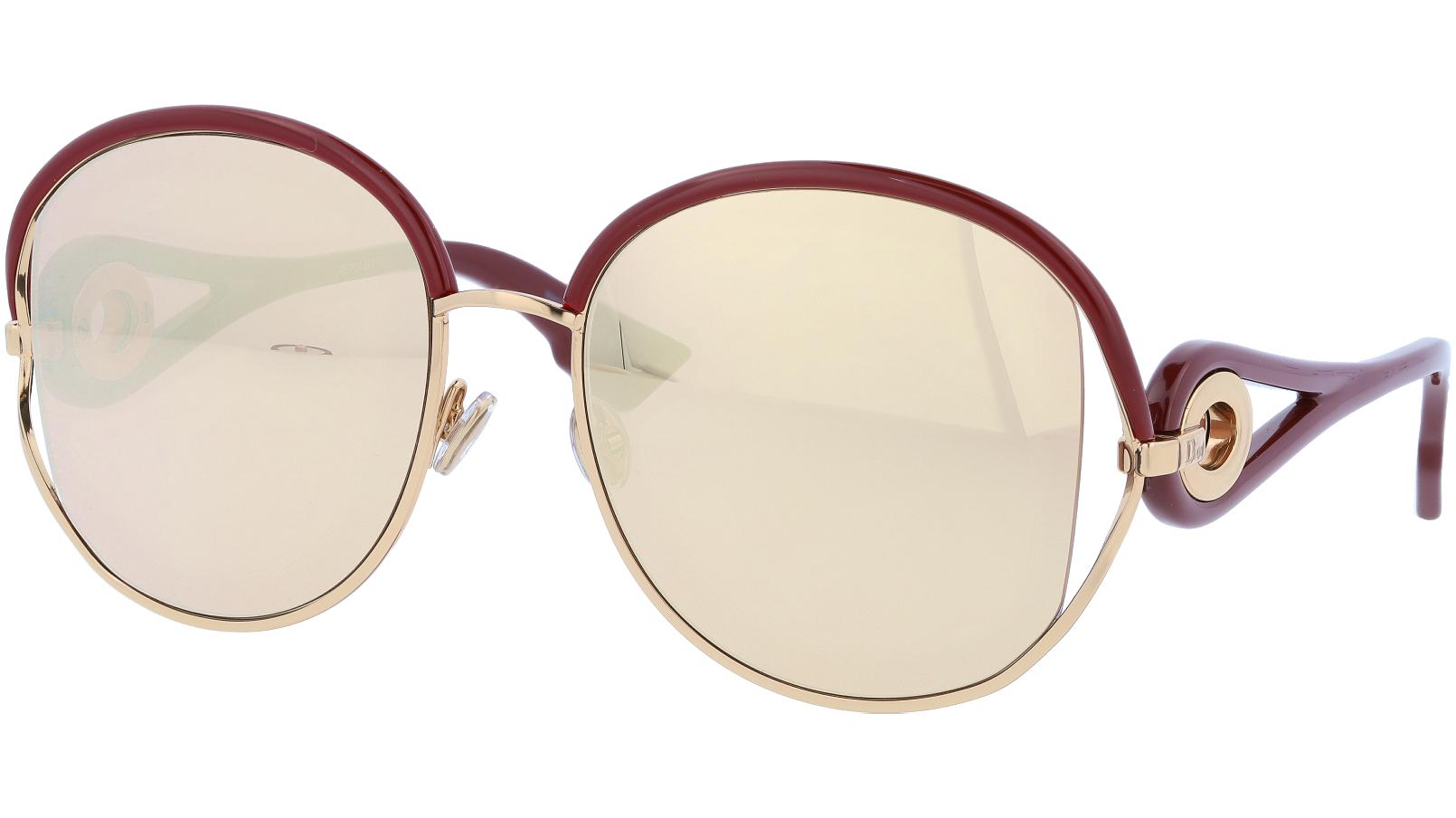 Dior NEWVOLUTE RHLA9 57 Gold Sunglasses