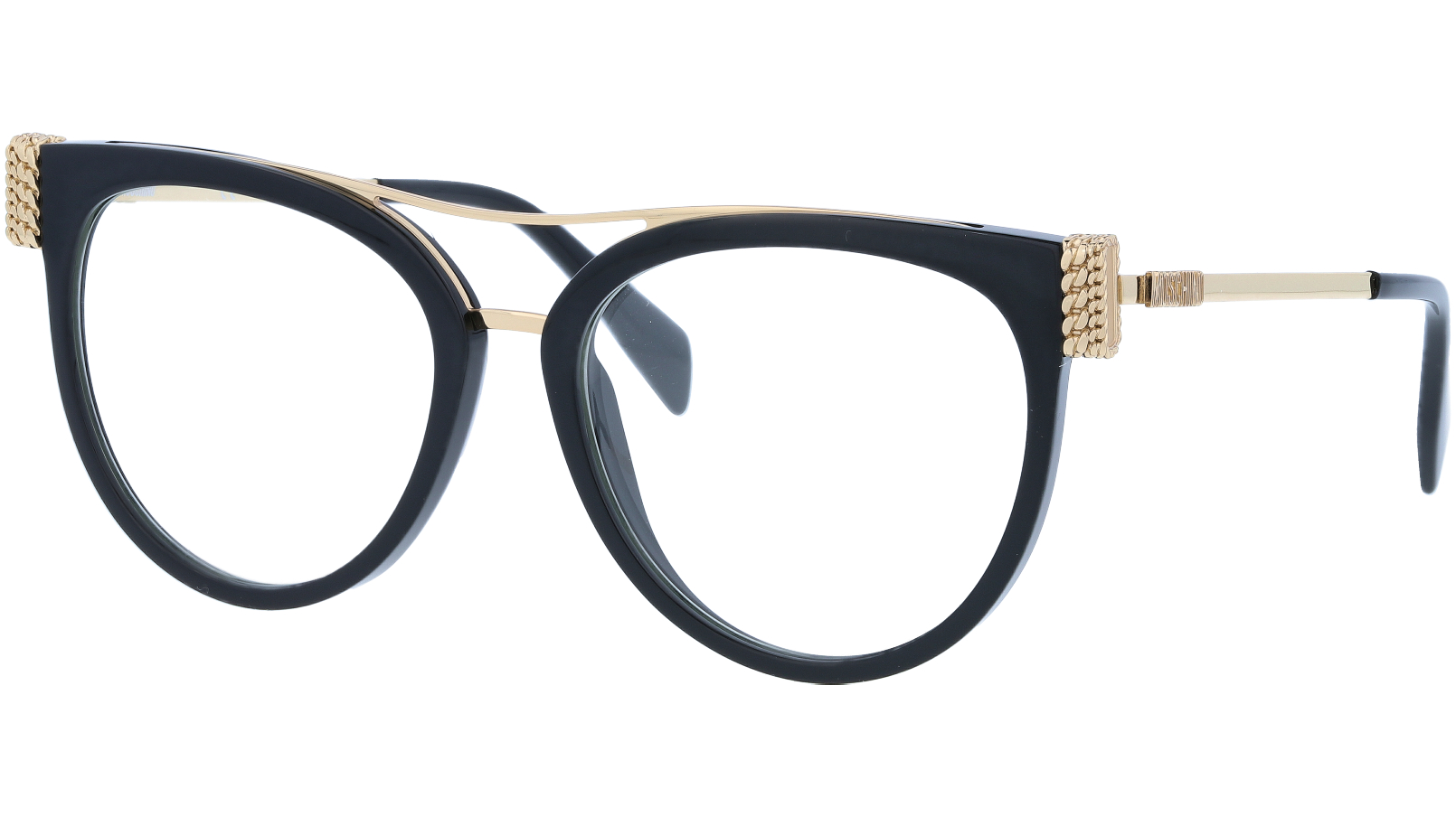MOSCHINO MOS023S 2M299 53 BLACK Glasses