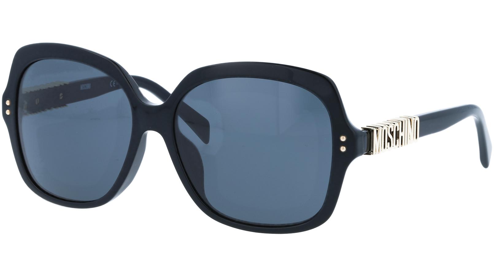 MOSCHINO MOS014FS 807IR 57 BLACK Sunglasses