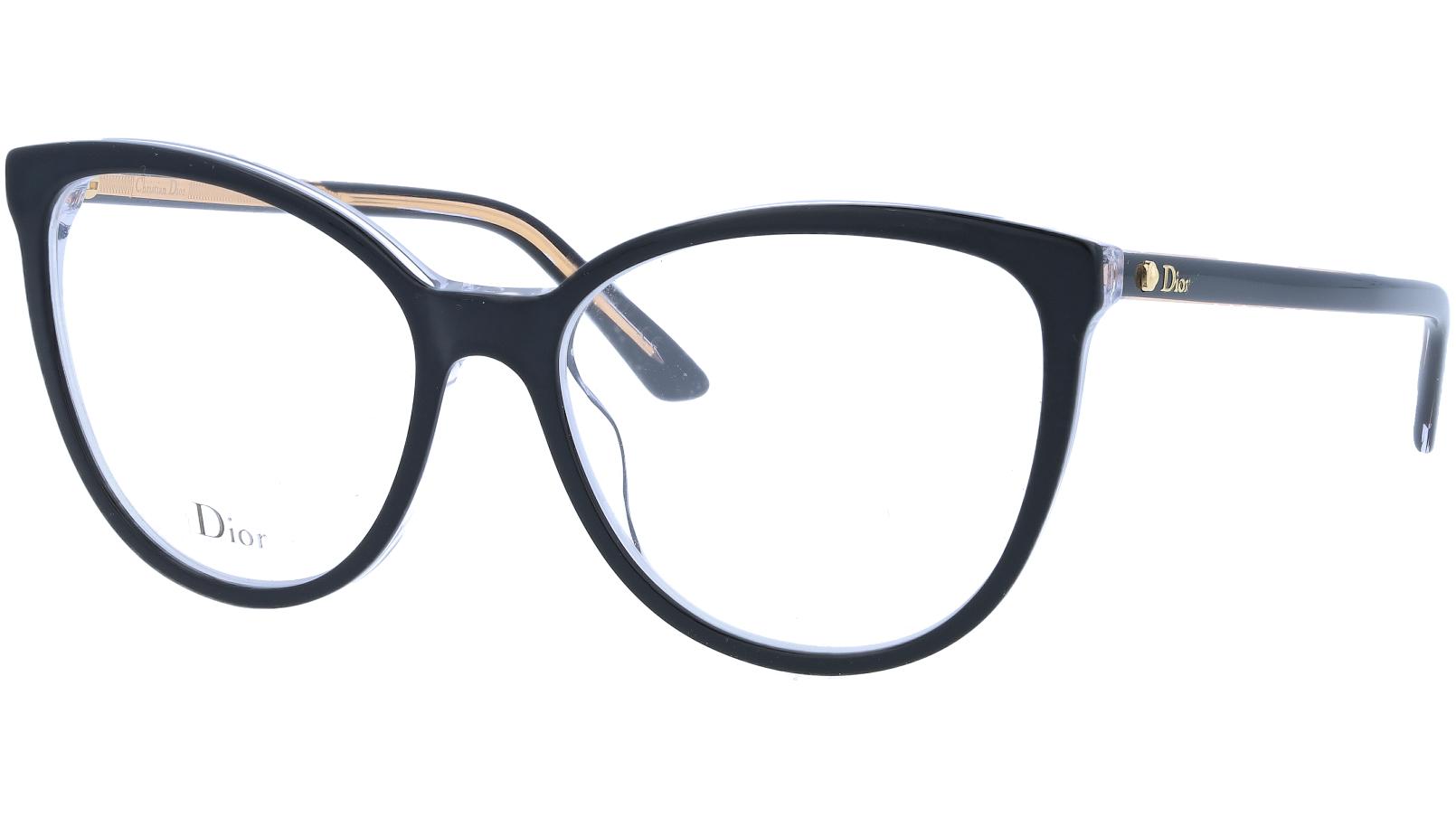 Dior MONTAIGNE25 TKX 53 Black Glasses