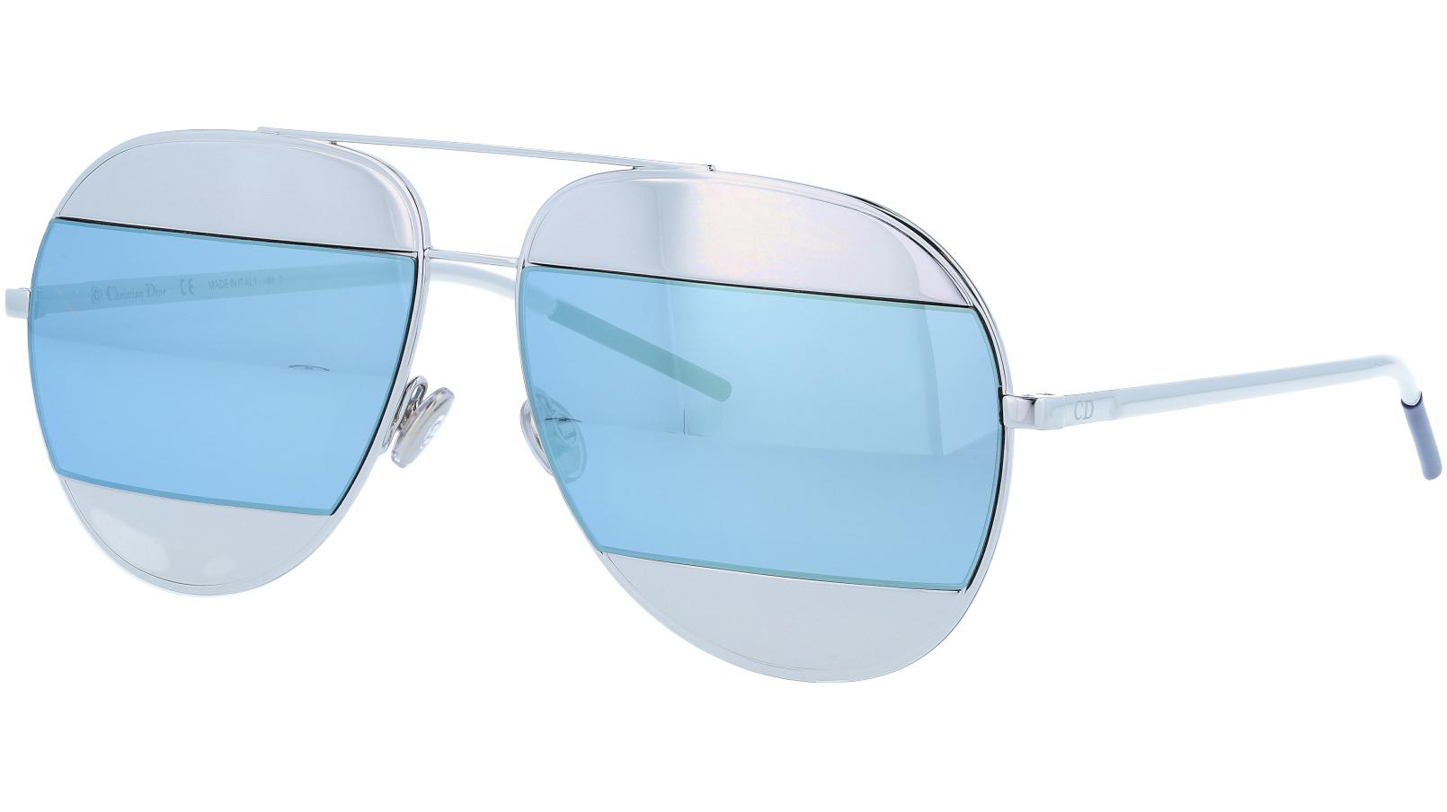 Dior SPLIT1 J5G5V 59 Gold Sunglasses