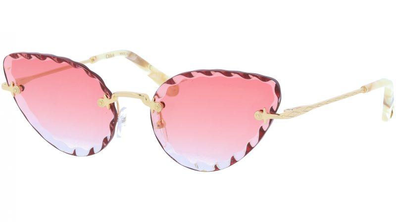 Chloé Rosie CE157S 823 60 Gold Cat-Eye Sunglasses