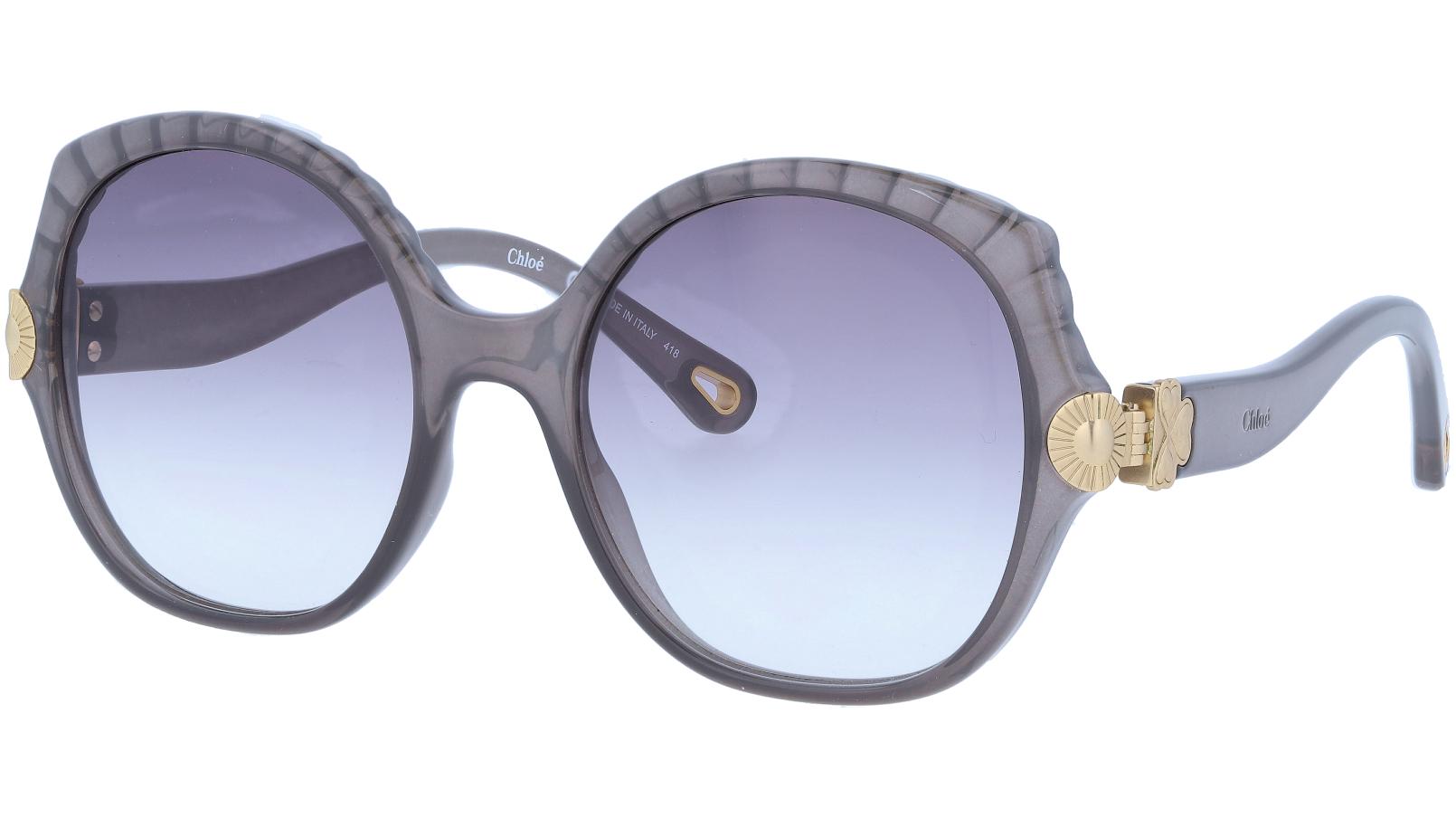 CHLOE CE749S 036 56 Dark Grey Square Sunglasses