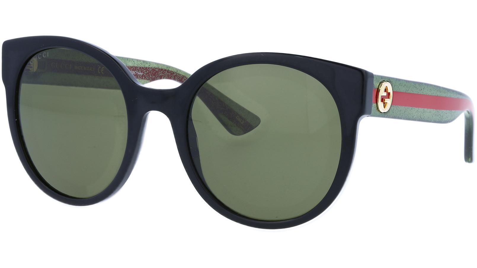 GUCCI GG0035S 002 54 BLACK Sunglasses