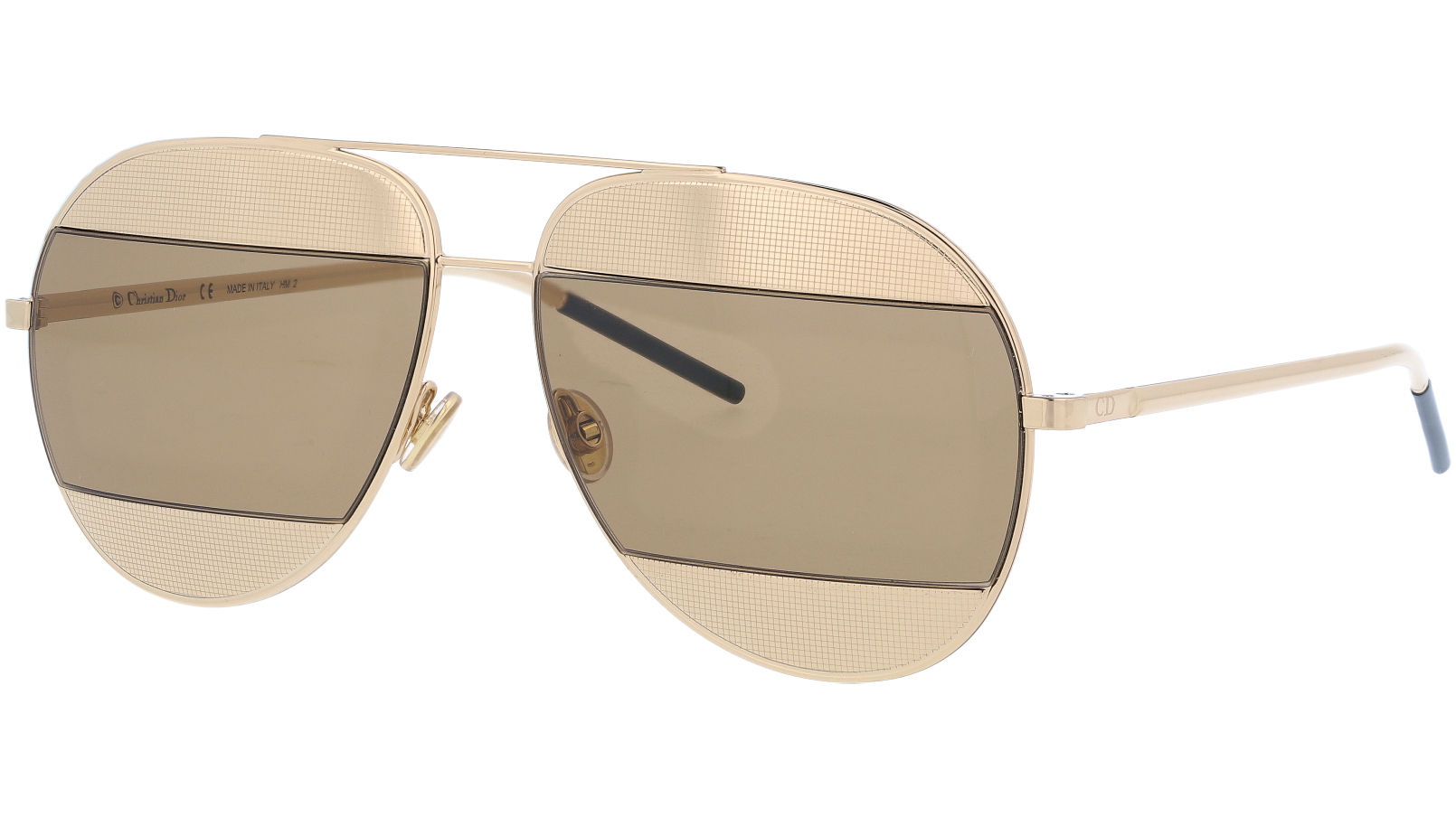 Dior SPLIT1 0103J 59 Palladium Sunglasses