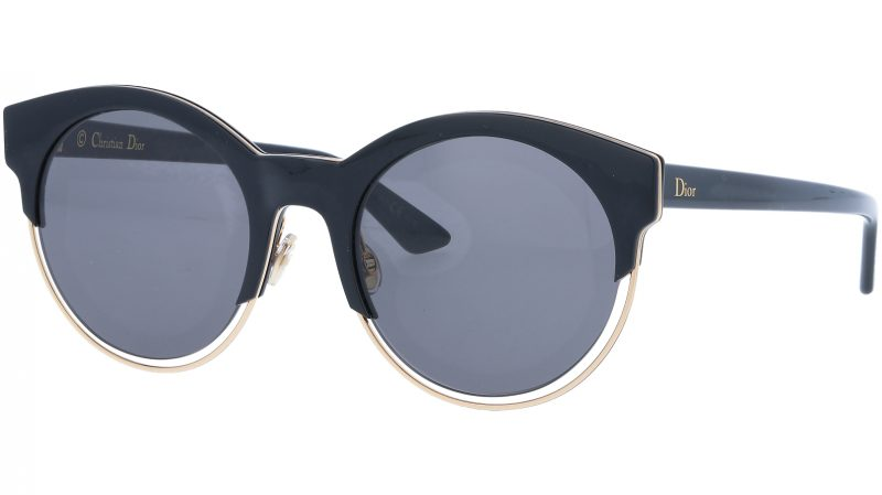 Dior SIDERAL1 J63Y1 53 Black Sunglasses